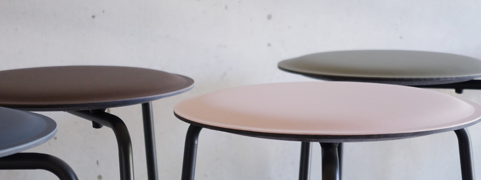 Ravioli Linoleum Stool S, Chairs & Stools