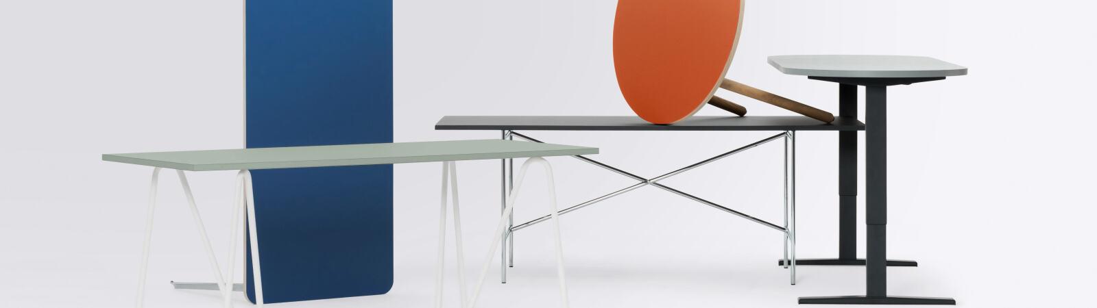 Tables, Table bases, Lino Table Top, Table base, Table legs, Custom model, Desktop, Custom linoleum table tops