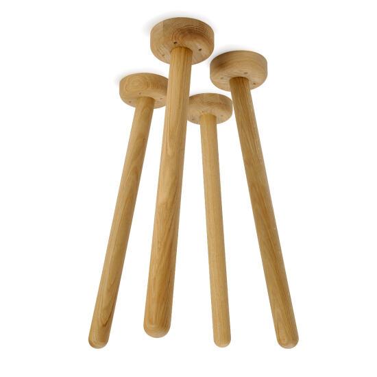 MT2 Oak (4 Pieces), Table Frames, Table bases, Table base, Table legs, Wood