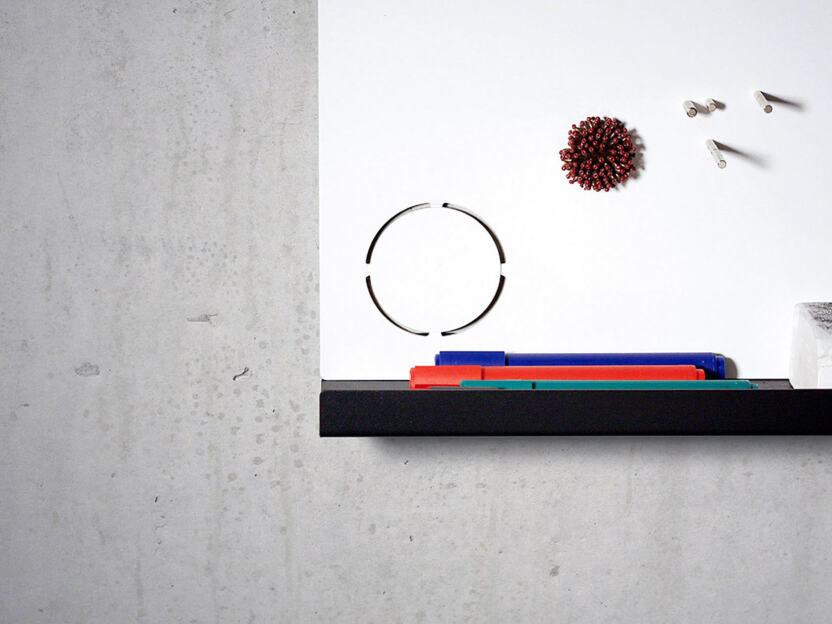 Magnetic pinboard designed by Michael Anton Kastenbauer
