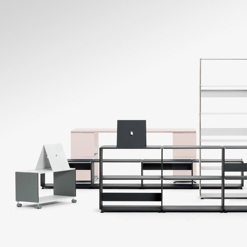 plusminus linoleum regal by daniel lorch regalsystem faust linoleum schweiz aufbewahrung. Black Bedroom Furniture Sets. Home Design Ideas