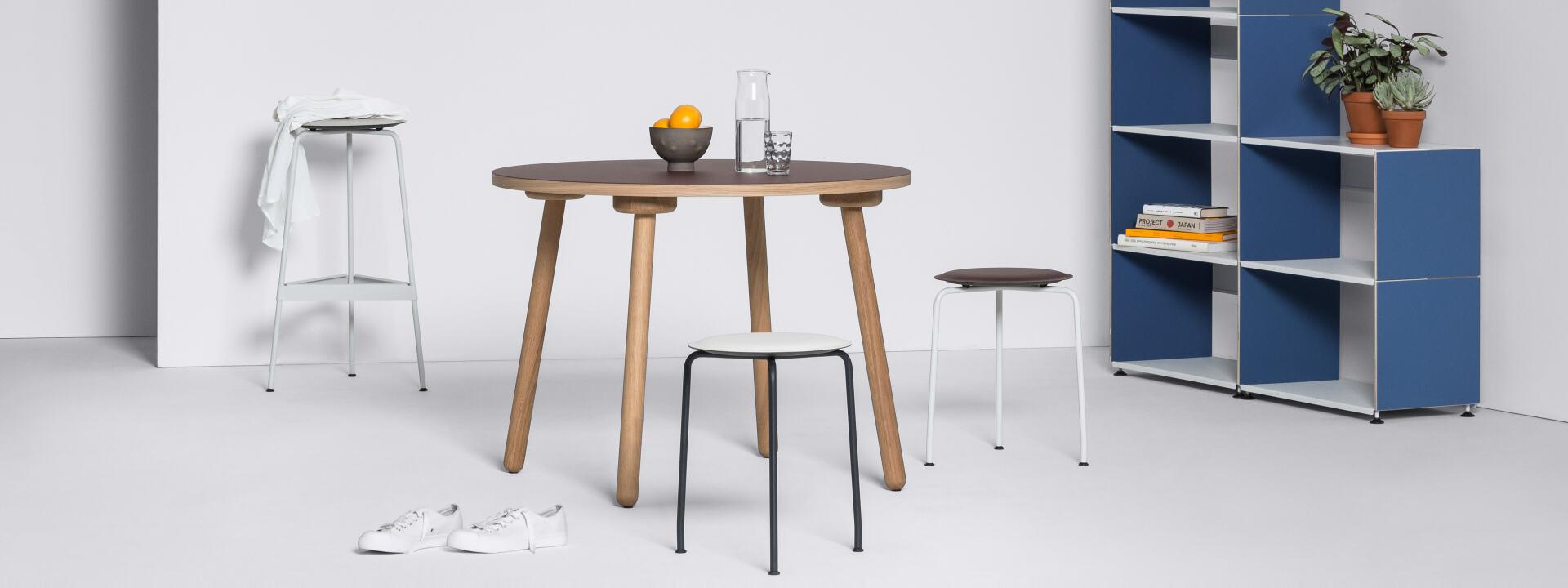 MT2 Eiche (4 Stück), Tischgestelle, Tischgestelle, Tischgestell, Tischbeine, Holz