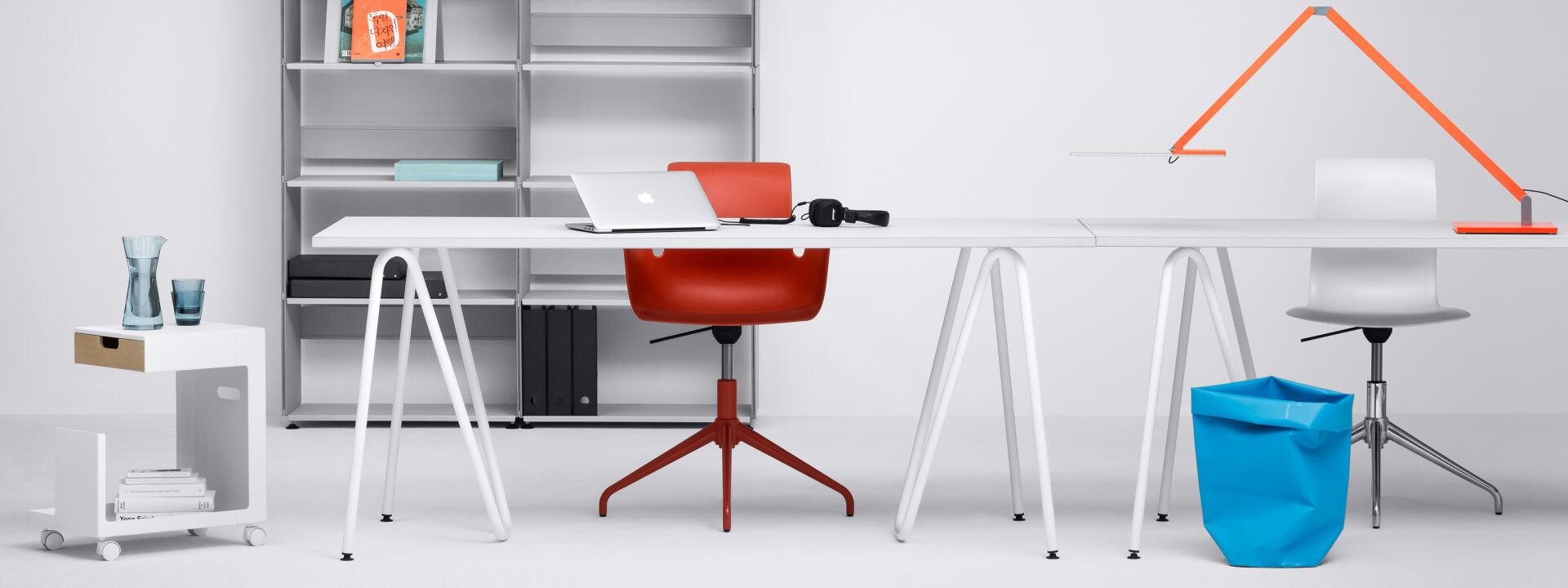 Sinus Tischbock (2 Stück), Tischgestelle, Tischgestelle, Tischgestell, Tischbeine