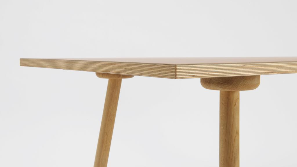 Schreibtischplatte holz  Linoleum Tischplatte Basic by Faust Linoleum | Lieferung durch FL ...